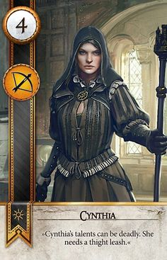 Cynthia (Gwent Card) - The Witcher 3: Wild Hunt