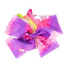 JoJo Siwa Pink & Purple Tie Dye Hair Bow