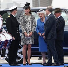 Duchess of Cambridge christens the Royal Princess