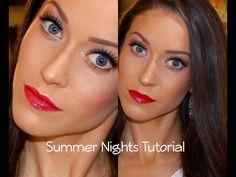 Summer Nights: Dewy Skin | MAC Dazzleshadows | Erin Nicole TV