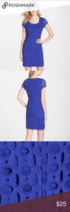 Nordstrom Andrew Marc Blue Dress See 4th picture for details Comfortable, forgiving fabric Andrew Marc Dresses