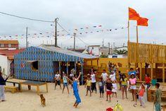 Exyzt, ConstructLab: Casa do Vapor, Cova do Vapor, Lisbona