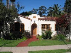spanish casita style | Casita on the Park - Home Exterior Designs - Decorating Ideas