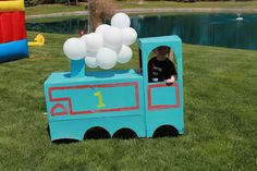 """Train prop for """"planes trains and automobiles"""" party!"""