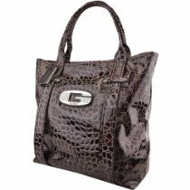Guess FF209625 Mocha (Brown) Glow Candy Tote Handbag From GUESS - Bags or Shoes Shop