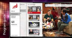 Wiztivi proposed a NRJ12  Template for the new NRJ HBBTV portal, including a catchup service access, a program guide by channel, but also an access to the group's webradios. Development | UI & UX by Séverine Lebrun -June2014
