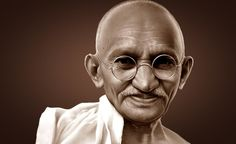"1) Satisfaction lies in the effort, not in the attainment. Full effort is full victory. This assertion was the bassnote in the symphony of Gandhi's life. Gandhi said that he learned this from the Bhagavadgita, which says, ""Yours is the action, not the result."" Gandhi repeatedly said that he would..."