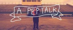 Get motivated! and have a giggle while you're at it. Pep Talk from Kid President