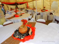 zulu wedding decor pictures - Google Search Royal Blue Wedding Decorations, Wedding Decorations Pictures, Decoration Pictures, Wedding Ideas, Wedding Blog, Table Decorations, Zulu Traditional Wedding, Traditional Wedding Invitations, African Wedding Theme