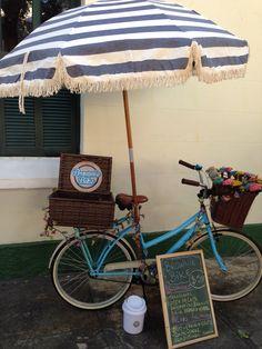 cute food bike