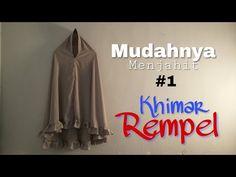 Membuat Khimar dengan Metode Jiplak - YouTube Clothing Patterns, Sewing Patterns, Kebaya Brokat, Blouse Batik, Sewing Pants, Hijab Tutorial, Abaya Fashion, Womens Fashion, Clothes