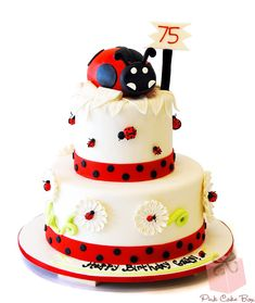 Our Top Ten Ladybug Themed Cakes for Children! » Pink Cake Box