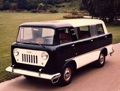 1958 Jeep FC-150 Mini-Van Color Photos Discovered! Prototype one of three ever built.