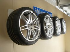Wheel/Tire storage  Home Depot (?)