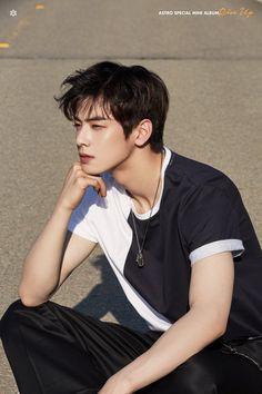 Astro drops Cha Eunwoo individual teaser for their upcoming special mini album Asian Actors, Korean Actors, Ullzang Boys, F4 Boys Over Flowers, Cha Eunwoo Astro, Lee Dong Min, Jung So Min, Sanha, Kdrama Actors