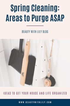 Spring Cleaning: Areas to Purge // Tips to Get Organized // How to Spring Clean // How to Purge // Tips to Spring Clean // Spring Cleaning Hacks // Spring Cleaning Checklist // Spring Cleaning Tips Tricks // Decluttering Tips // Decluttering Ideas