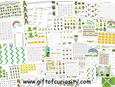 St Patrick's Day Printables - Easy DIY Activities for Kids! Kids Learning Activities, Holiday Activities, Teaching Ideas, St Paddys Day, St Patricks Day, St Patrick's Day Crafts, Kids Crafts, School Themes, School Ideas