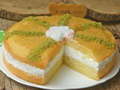 Padişah Yastığı Tatlısı Resmi Turkish Recipes, Ethnic Recipes, Cornbread, Cheesecake, Good Food, Food And Drink, Fruit, Desserts, Notes