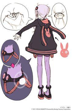 Yuzuki Yukari - particolare