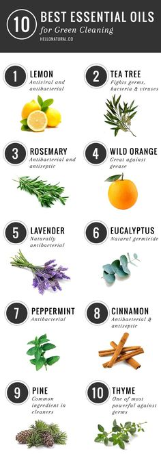 10 Best Essential Oils for Cleaning