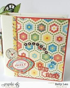 Turn It On Back to School Planner Set - Belly Lau- Graphic 45 - Mixed Collections