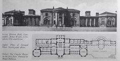Floor plan, Heaton Hall Manchester