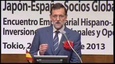 Partido popular Rajoy presume ante inversores japoneses de las bajadas de sueldos en España