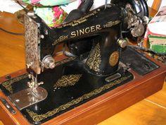 Antique Singer Sewing Machines | Singer Sewing Machine ~ 1951 (Model 99-13K) ~ She's BEAUTIFUL!