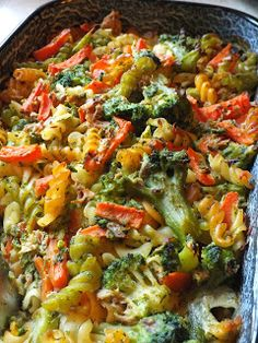 Veggie Recipes, Fish Recipes, Pasta Recipes, Vegetarian Recipes, Healthy Recipes, Tasty Dishes, Food To Make, Main Dishes, Food Porn