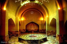 The Aga Hammam; This bath is located in Beyoglu Istiklal Street. It was built by Yakup Aga in 1562 (with the aim of bringing revenue to the lighthouse in Anatolian Side's Fenerbahce district