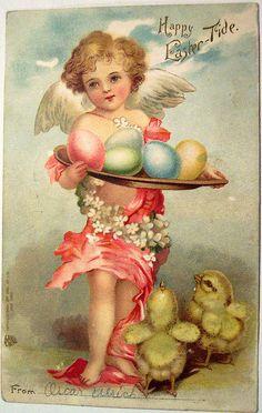 Vintage easter Postcards | Vintage Easter Postcard | Flickr - Photo Sharing!