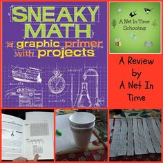 Make and do projects to have fun with math.  A review by A Net In Time.