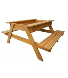 Buy Kids Play Table With Sandpit / Outdoor Table Sandbox