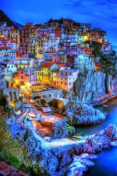 Manarola, Cinque Terre, Liguria, Italy ~ One of our favourite destinations when we went to Italy. Cinque Terre was gorgeous Romantic Honeymoon Destinations, Vacation Destinations, Dream Vacations, Honeymoon Ideas, Italy Honeymoon, Italy Vacation, Italy Trip, Honeymoon Packages, Romantic Vacations