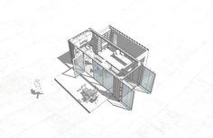 Minimal House Single 20ft | 2x20ft