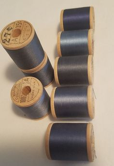 Belding Corticelli Sewing Silk Wooden Spool Thread Dark Blue Mixed Shades end Wooden Spools, Silk Thread, Pure Silk, Dark Blue, Shades, Pure Products, Sewing, Ebay, Dressmaking
