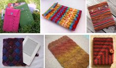 Six free knitting projects for a kindle cover