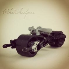 #084 - Bat-Pod - 2014 Hot Wheels - HW City - Batman