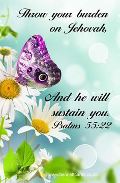 """""""Jehovah will sustain you!!"""""""