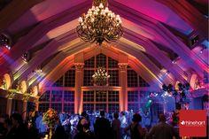 Colorful reception lighting, Weddings of Distinction, Ashford Estate Wedding Photographer
