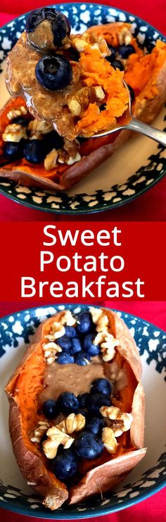 This sweet potato breakfast bowl is amazing! So healthy and delicious! All natural, unprocessed and gluten-free! What a perfect healthy paleo breakfast! Sweet Potato Waffles, Sweet Potato Breakfast, Breakfast Potatoes, Sweet Potato Casserole, Breakfast Bowls, Best Breakfast, Breakfast Ideas, Vegan Breakfast Options, Healthy Breakfast Recipes