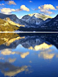 Just before sunset, after the big snowstorm, Mount Craig, Grand Lake, Colorado Go Camping, Camping Hacks, Outdoor Camping, Grand Lake, Before Sunset, Closer To Nature, Road Trip Usa, The Great Outdoors, Places To See