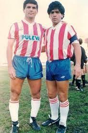 Ramon Rodriguez & Diego Maradona