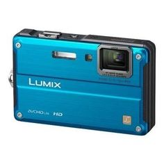 Panasonic Lumix DMC-TS2 14.1 MP Waterproof Digital Camera with 4.6x Optical Image Stabilized Zoom with 2.7-Inch LCD (Blue) by Panasonic. $399.99. From the Manufacturer                 The DMC-TS2 is shockproof, waterproof, dustproof and newly added freezeproof in design with the capability to record high-definition movie in AVCHD Lite. Featuring a 28mm wide-angle lens, 4.6x optical zoom and iA (Intelligent Auto) Mode, this versatile camera lets you capture your moments no mat...