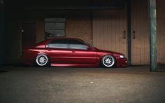 Honda Accord, low rider, tuning, stance, purple Accord, Honda
