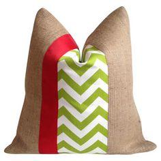 Chapman Pillow in Green