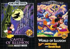 Mickey Mouse Castle of Illusion (1990)