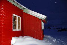 Red Norwegian Cabin