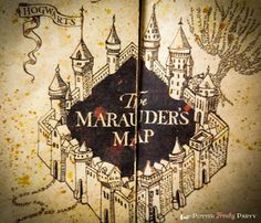 PRINTABLE MARAUDERS MAP