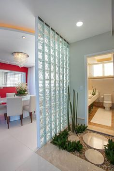 38 Ideas for exterior wall design creative Living Room Partition Design, Room Partition Designs, Home Upgrades, Exterior Wall Design, Creative Wall Decor, Diy Room Divider, Diy Bathroom Decor, Modern Interior Design, Home Renovation